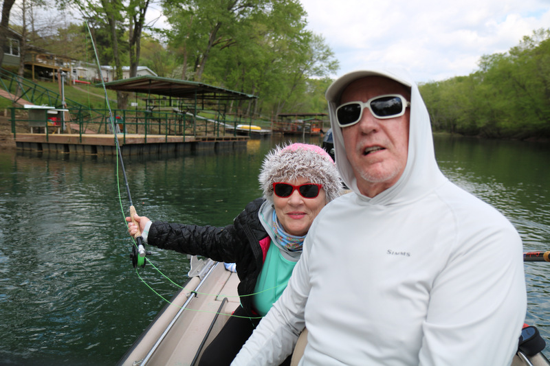 Good friends, Gary and Glenda Davis