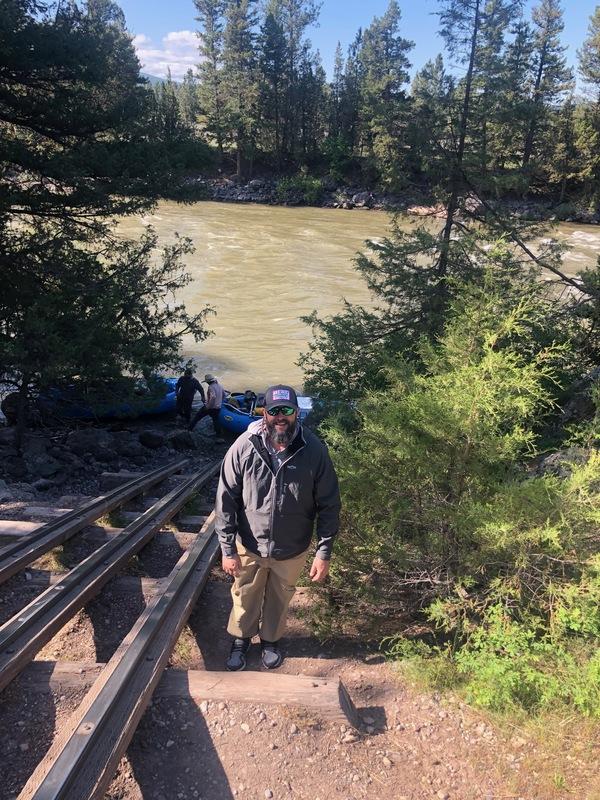 Blackfoot River in full runoff!