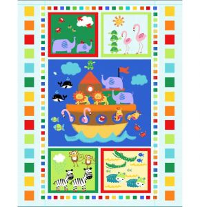 """1 /""""Toy Time/"""" #11 Baby Panel Fabric"""