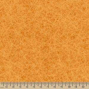 Aged Floral Tonal Orange BOHO Happy Patrick Lose Quilting Cotton Fabric YARD