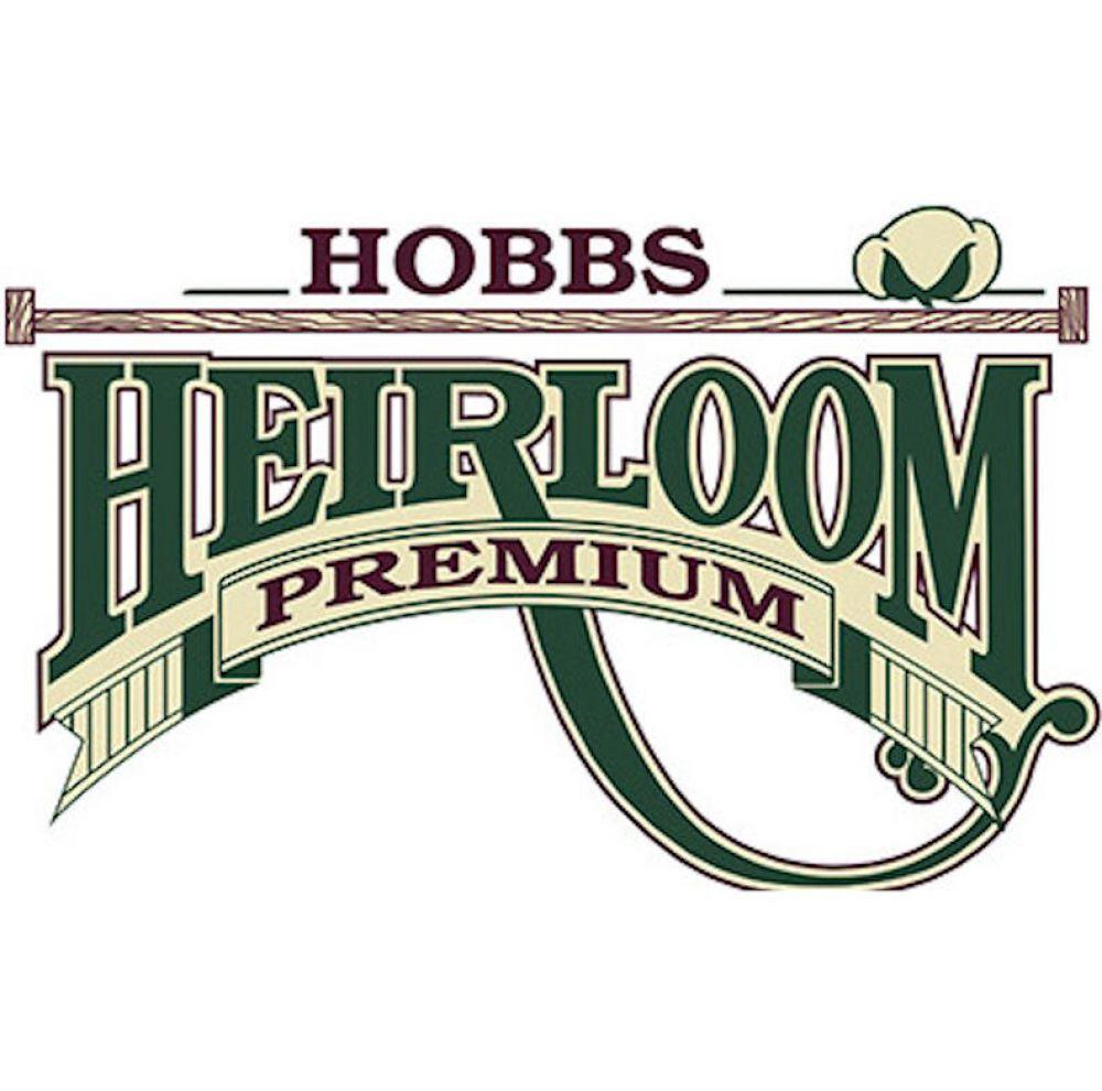 Hobbs Heirloom Premium 80/20 Cotton Blend Queen Size