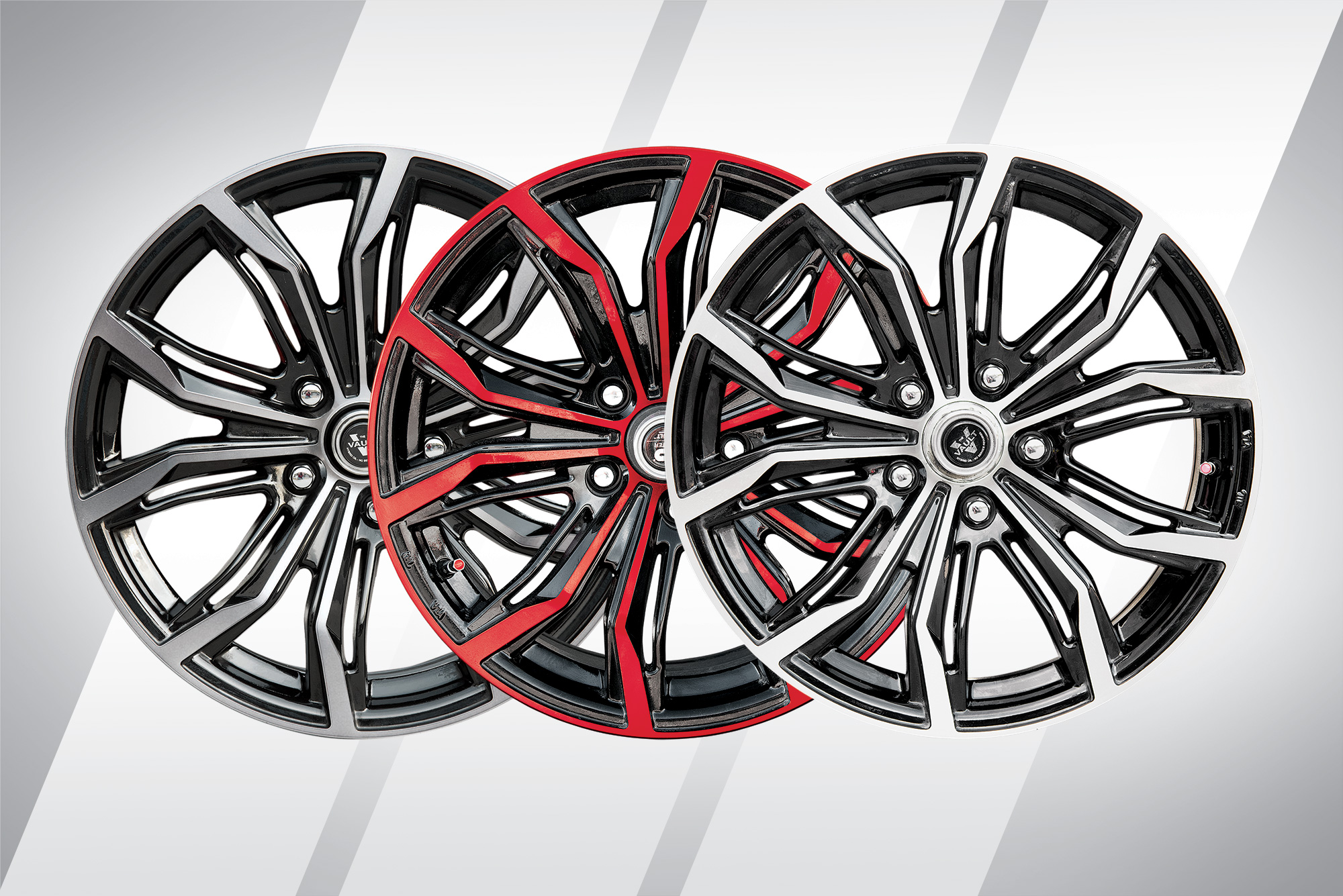 "17"" Aluminum Wheels with Radial Tires"